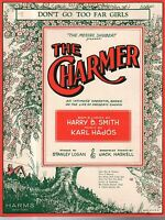 1928 Don't Go Too Far Girls from The Charmer by Harry Smith and Karl Hajos