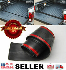 6' Rubber Truck Bed Tailgate Gap Cover Filler Seal Shield Lip Cap For Chevy