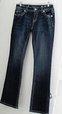 Miss Me Womens Rhinestone Wing Boot Cut Jeans JY5117B29 Sz 29 - NWT