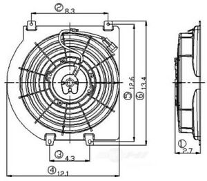 Engine Cooling Fan Assembly Global 2811412