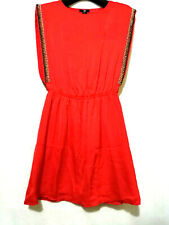 Bnwt H&M Red Dress With Embellishments