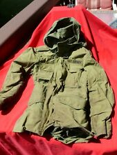 Vietnam 1965 Orig US Army FIELD JACKET Named Soldier Carry-Back WILLIAMS Sz 40