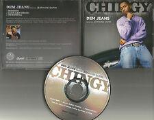 CHINGY w/ JERMAINE DUPRI Dem Jeans EDIT & CLEAN & INSTRUMENTAL PROMO CD Single