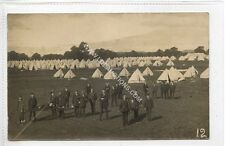 (Ga1768-460) Real Photo of First Aid Training at an Army Camp c1914-18 VG