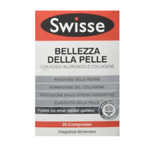 SWISSE BELLEZZA DELLA PELLE con acido ialuronico e collagene. - 30 Compresse -