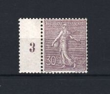 """FRANCE  STAMP TIMBRE N° 133 """" SEMEUSE LIGNEE 30c LILAS 1903 """" NEUF xx LUXE  R606"""