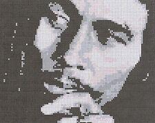 Bob Marley  Counted Cross Stitch Kit
