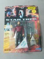 Star Trek Lt Commander Riker Action Figure Playmates1994 Vintage Sealed