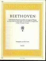 BEETHOVEN ~ Sechs leichte Variationen über ein eigenes Thema - G-Dur