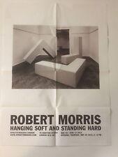 Robert Morris, private view INVITO/Piegato POSTER, 2013