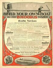 Brooks Boat Manufacturing Co. - Bay City, Mich.  - Build Your own Boat