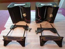 A pair ESS AMT Heil Tweeters, Air Motion  with Mount Screws. Works, Please Read