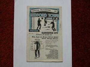 BEDFORD TOWN v GLOUCESTER CITY 1952/53