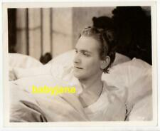 FREDRIC MARCH ORIGINAL 8X10 PHOTO IN BED 1936 ANTHONY ADVERSE