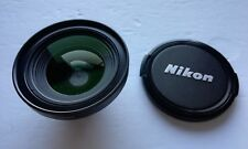 Nikon LC-ER1 Wide Converter Lens WC-E63 0.63x & LC Front & Back Cap Scratch Free