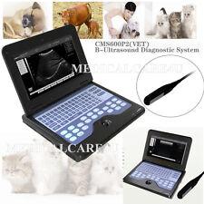 ecografo veterinaria, laptop animali Diagnostic System, 7,5MHz rettale sonda, CE