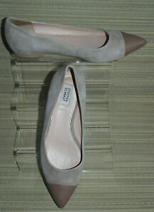 STEFEN SCHRAUT WOMEN Brown Leather Slip On Flat Pointed Shoes Size:5/38 (WHS400)