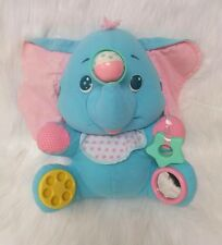 Playskool Vintage Busy Elephant Blue Activity Toy #05414 Rare Hard To Find B205