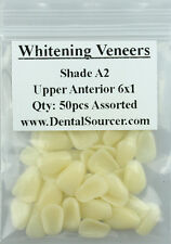 Dental Ultra-Thin Whitening Veneers Resin Teeth Upper Anterior Shade A2 80 PIECE