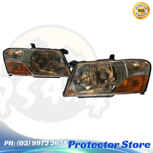 Set of Head Lights Left & Right to suit a Mitsubishi Pajero NM NP 2002-2006 head