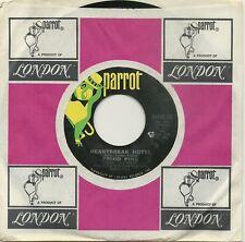 FRIJID PINK, HEARTBREAK HOTEL b/w BYE BYE BLUES, ORIGINAL 45rpm RECORD, 1970, M-