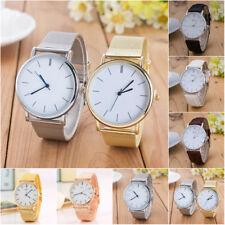 Brand Geneva Men/Women dress Watches Leather Band Analog Quartz Wrist Watch