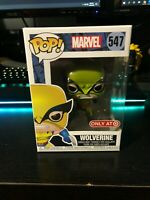 **NEW** Metallic Wolverine w PROTECTOR Target X-Men 1st Appearance Pop #547