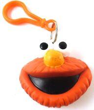 Elmo Sesame Street 1997 JHP Applause Hard Plastic ELMO Face Keychain Coin Purse