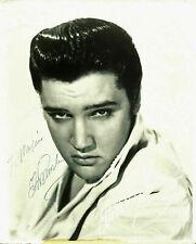 Elvis Presley Signed 8x10 Photo (RP)