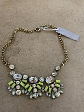 Necklace, Last True Angel, Neon Yellow Diamante Style Stones, BNWT