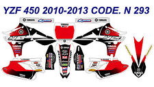 N 293 YAMAHA YZ450F 2010-2013 10-13 DECALS STICKERS GRAPHICS KIT