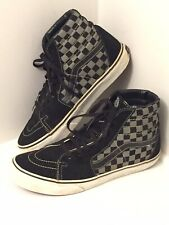 VTG OG Vans Mens 10, Hi Skate, Checker Gray/Black Cushion