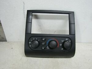 04 Mitsubishi Galant Heater AC control  Climate Control Radio Dash Bezel OEM