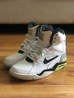 Nike Air Command Force Billy Hoyle White Black Volt Grey 684715-100 Size 9