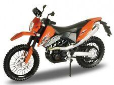 BLITZ VERSAND KTM 690 Enduro orange Welly Motorrad Modell 1:18 NEU & OVP