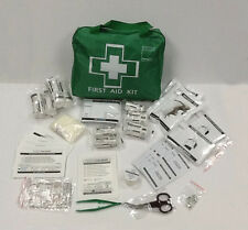 100 Piece Deluxe First Aid Kit Bag, with plasters + strapping tape