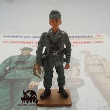 Figurine Collection Del Prado plomb  Lieutenant Alpin Allemand Balkans 1944