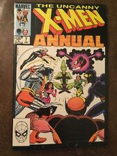 Uncanny X-men Annual 7 Marvel Comic Fine Minus Condition Wolverine 1983