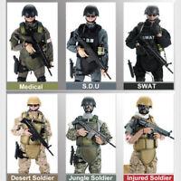 "1/6 Soldier 12"" Action Figure Doll Military Army Suit Uniform Clothes Set Model"