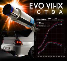 TOMEI EXPREME Ti CATBACK EXHAUST FOR MITSUBISHI EVO 8/8MR CT9A 4G63 -440003