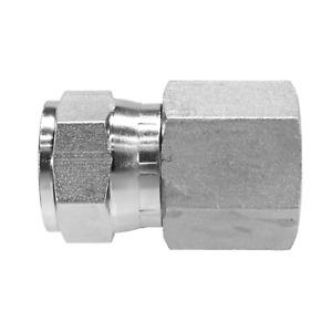 """6506-06-06 Hydraulic Fitting 3/8"""" Female JIC Swivel X 3/8"""" Female NPT Pipe"""