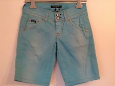 BNWTT 100% Auth Guess, Ladies Bright Blue Shorts With Logo. 28