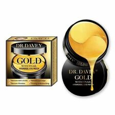 Dr. Davey 24k Gold Eye Patch w Snail Hydrogel: 30 Pairs / 60 Patches + Spatula