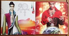 CD x2 - PRINCE 20 TEN & PLANET EARTH - NEWSPAPER PROMO