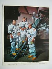 APOLLO 8 ASTRONAUTS SIGNED  PHOTO~JAMES LOVELL,WILLIAM ANDERS,FRANK BORMAN,