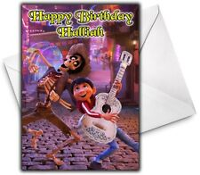 DISNEY'S COCO Personalised Birthday / Christmas / Card - Large A5 - Disney