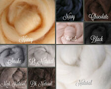 NEUTRALS Palette Wool Roving Fiber 2.5ozs./70 grams Needle Felting Spinning Soap