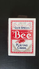 Red Bee Playing Cards (Blue Seal) Ohio Made. Poker size by USPCC