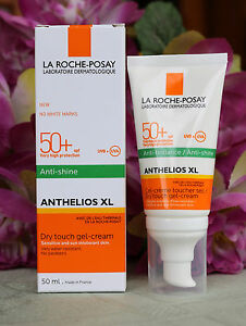 La roche-posay ANTHELIOS XL anti-shine sun dry touch gel-cream 50ml. SPF 50+