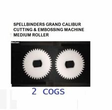 SPELLBINDERS GRAND CALIBUR CUTTING & EMBOSSING MACHINE MEDIUM ROLLER COG x 2
